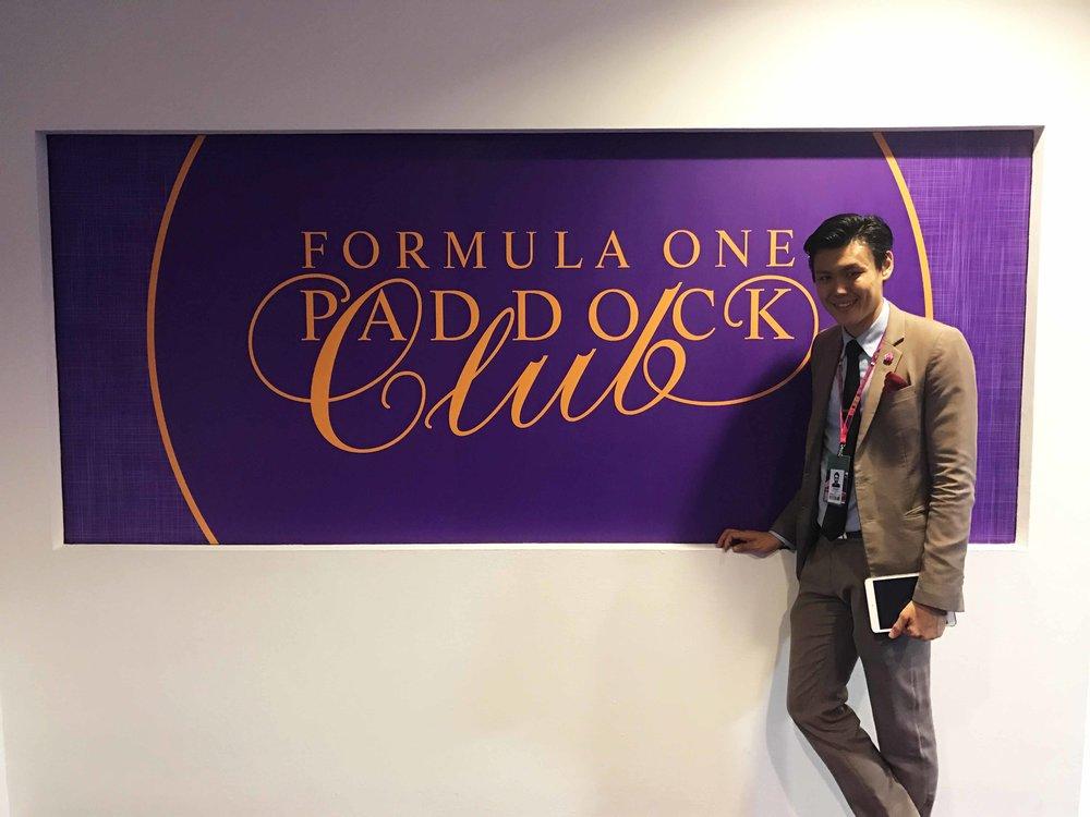 Suite Paddock Club Magician F1