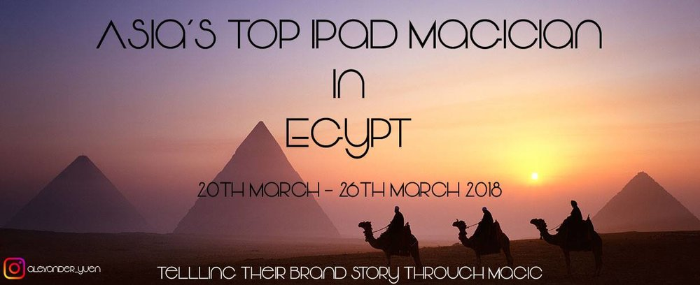iPad Magician Egypt