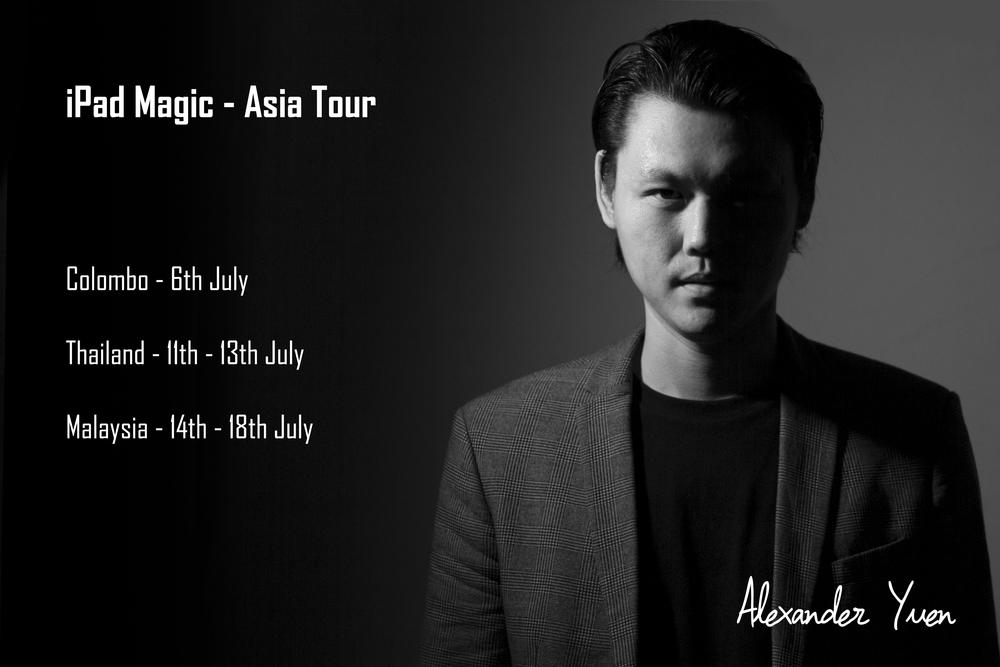 iPad Magician Alexander Yuen Asia Tour