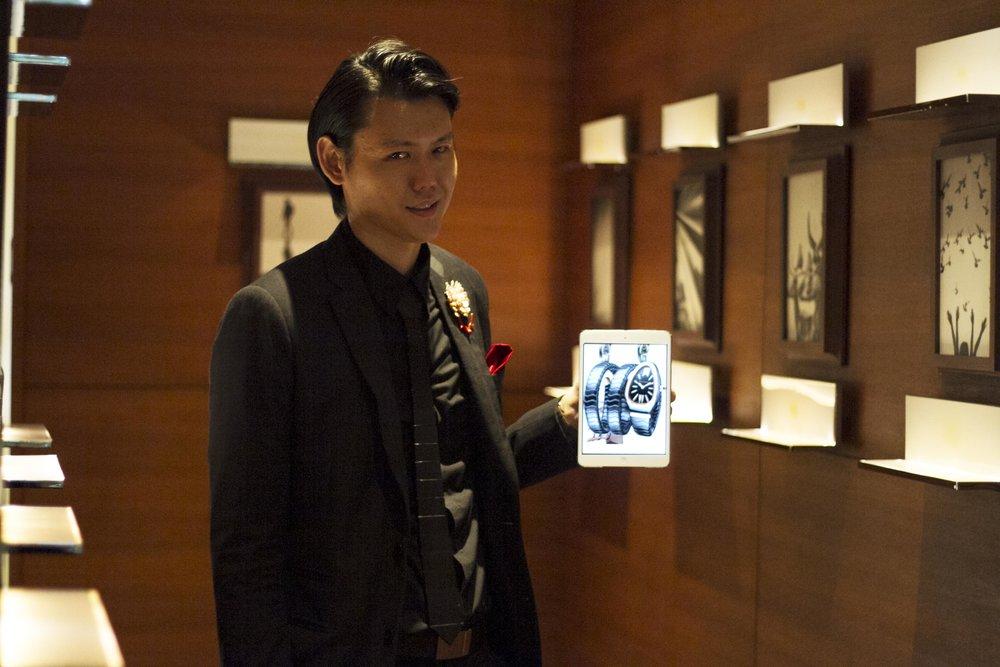 Alexander Yuen Luxury iPad Magic Brand