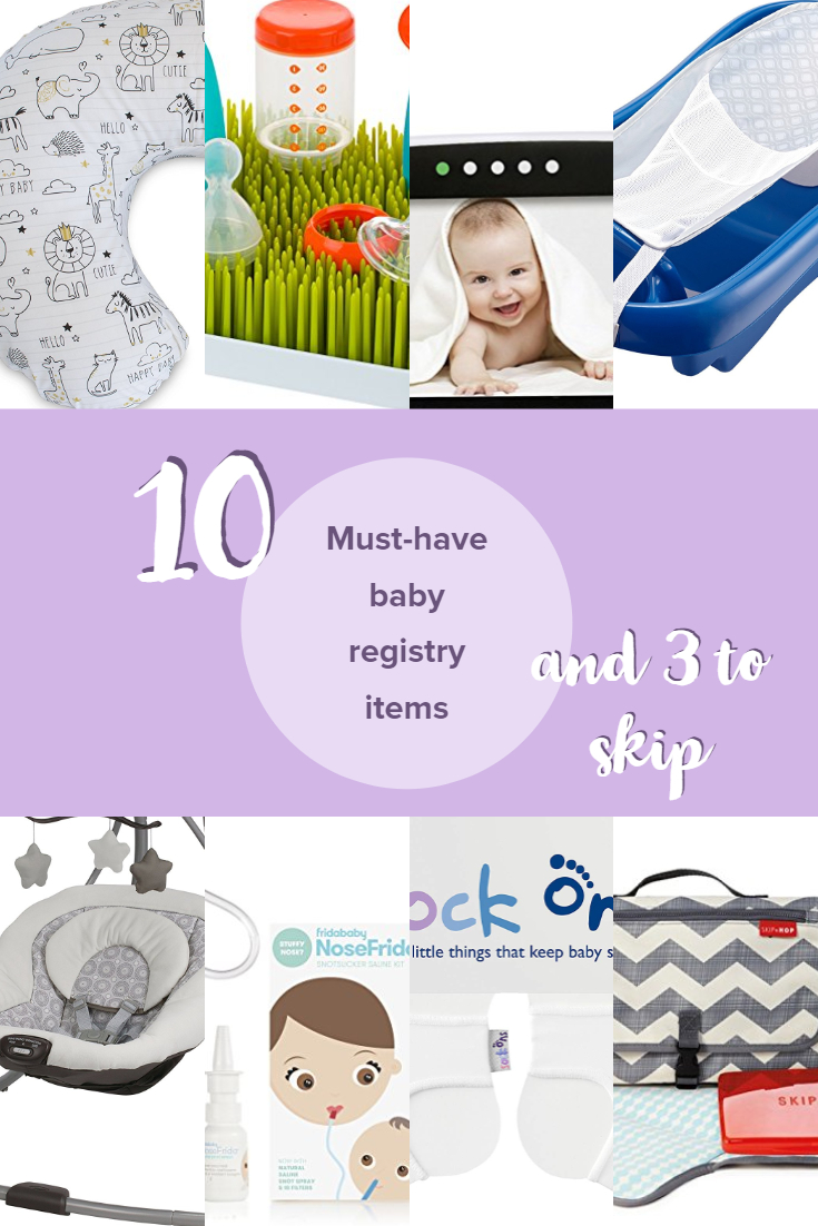 Must have baby registry pinterest