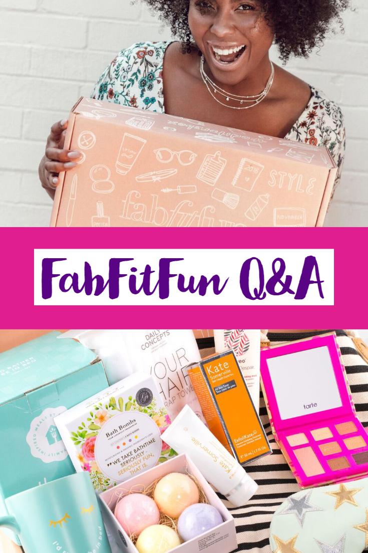 FabFitFun Q&A