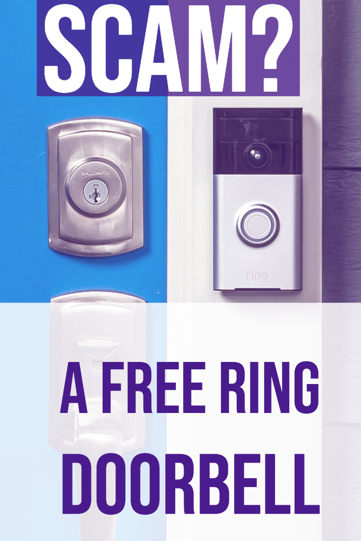 Free Ring Doorbell - Scam