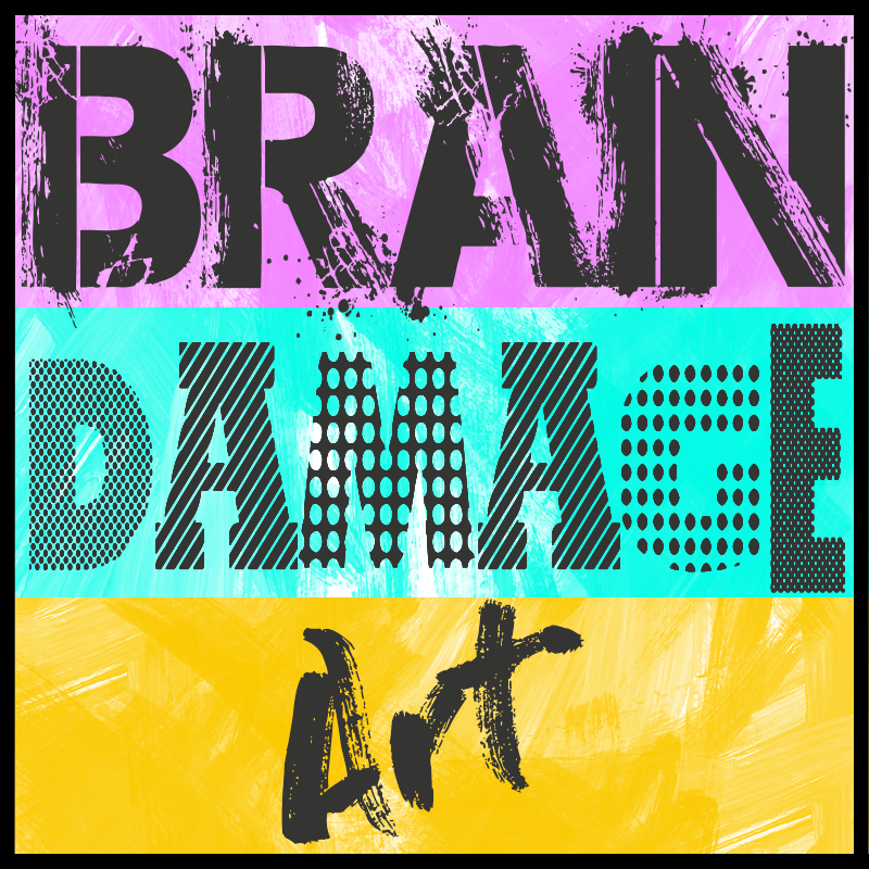 Brain Damage Art