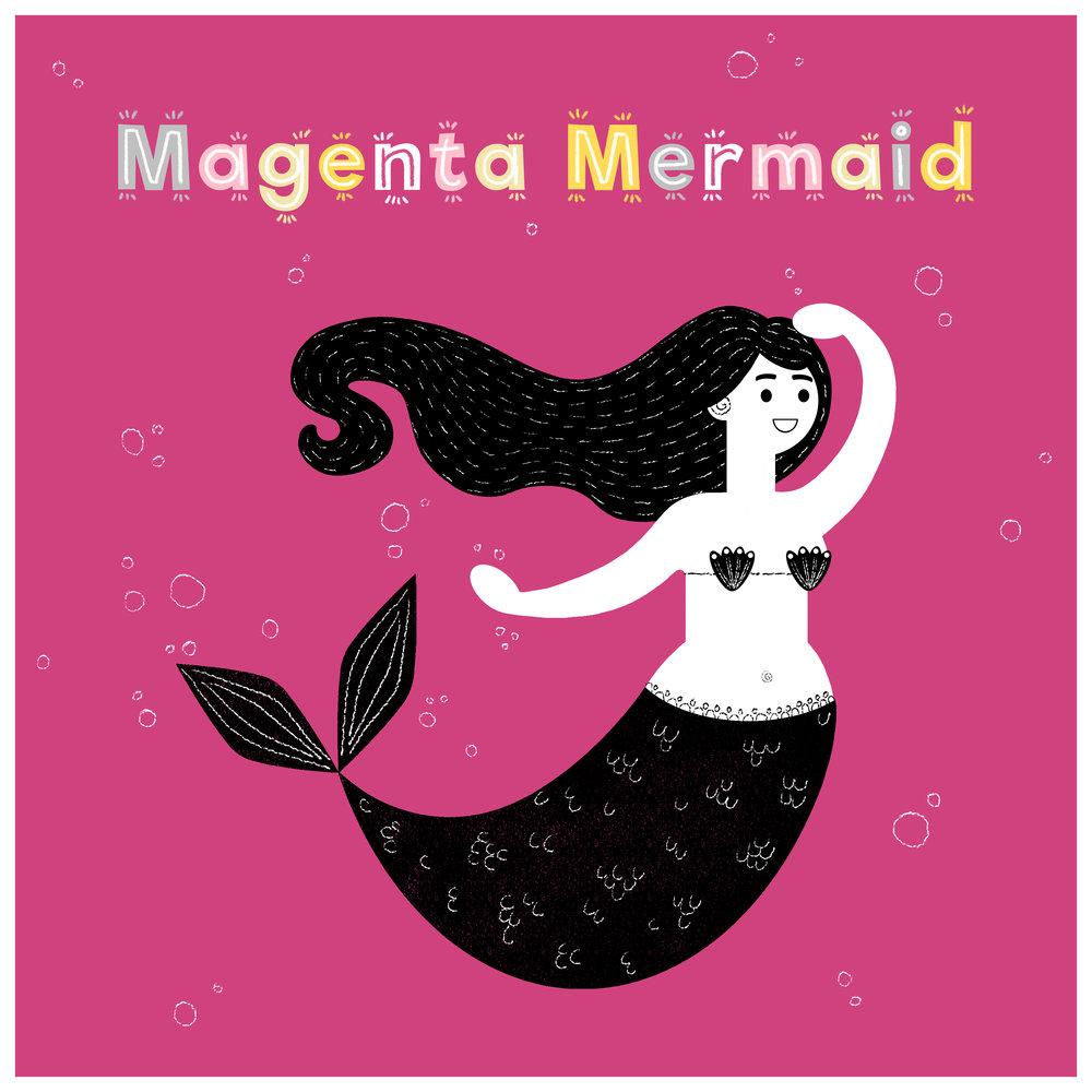 Art_Memory_Game_Cards_Magenta_Mermaid.jpg
