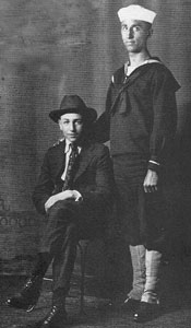 Walt and Roy, 1917