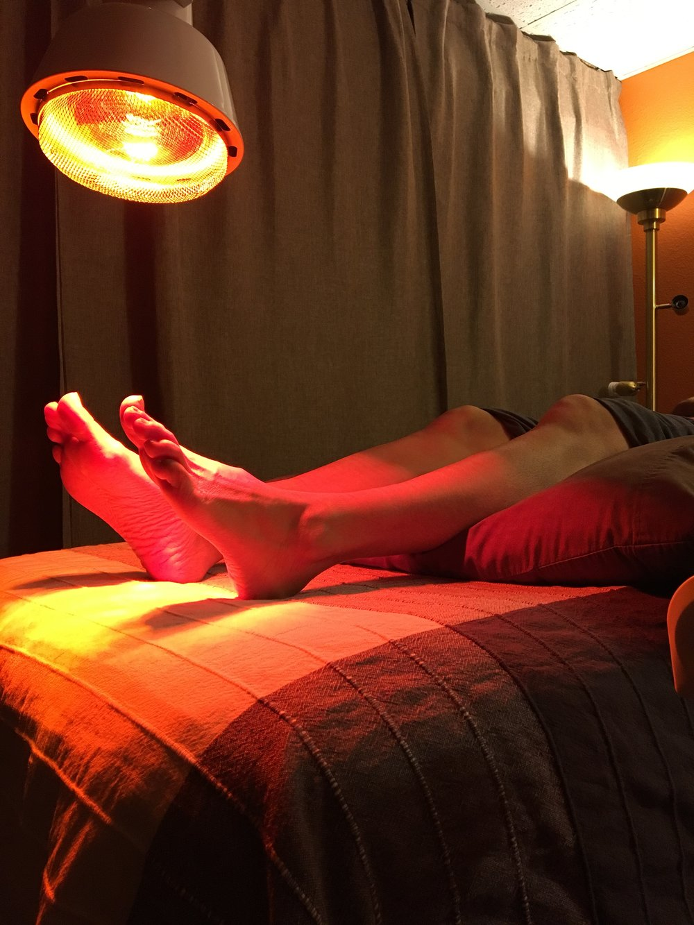 Specialized treatment rooms designed for the utmost in comfort and care.  The heat lamps during the Acupuncture treatment provide an ultimate comforting experience.