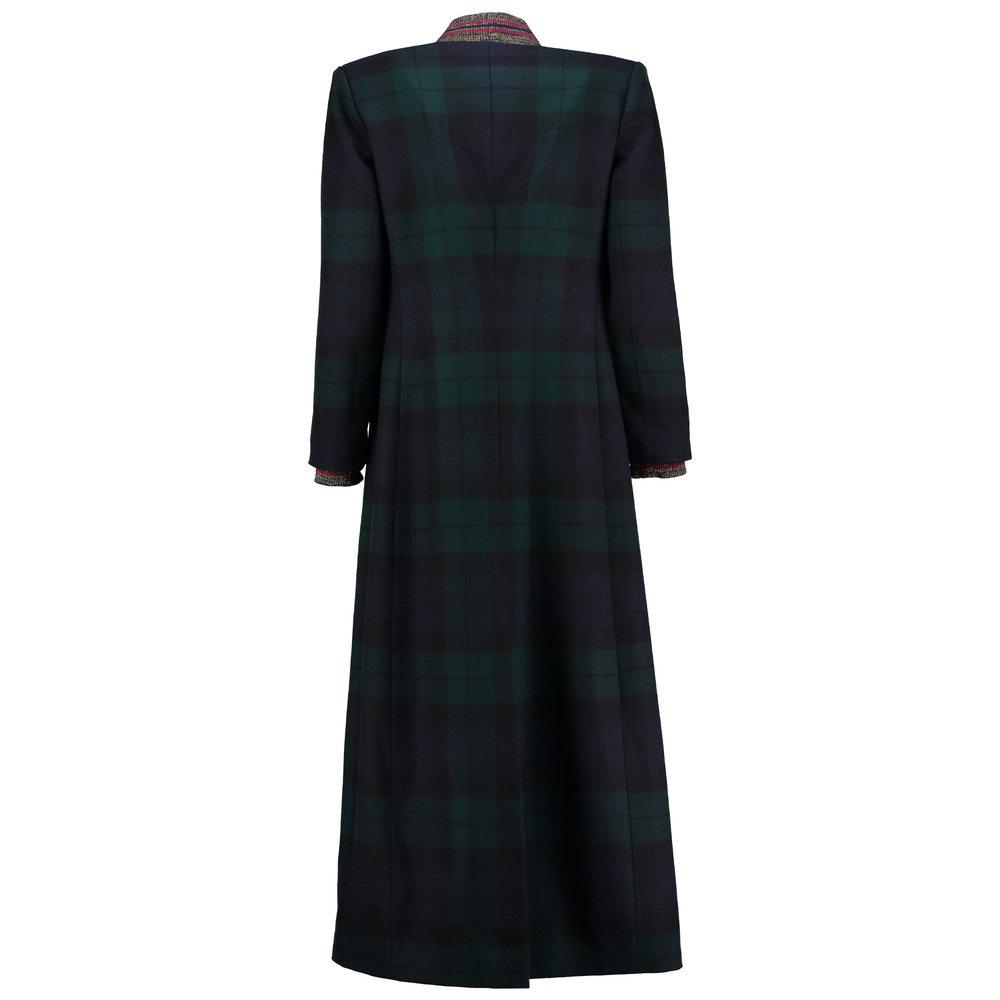 Full length Blackwatch tartan winter coat. — Alan Auctor