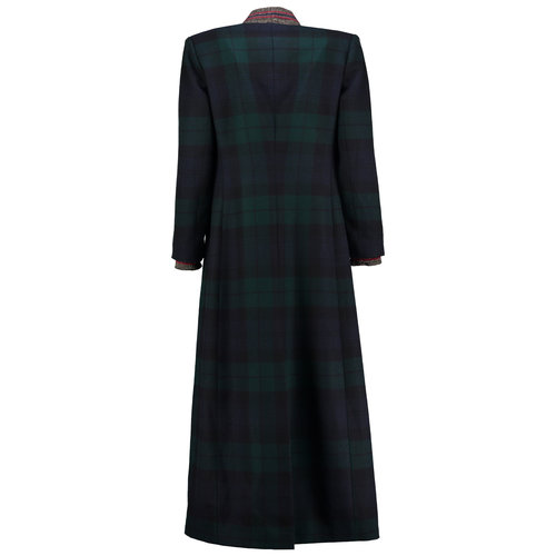 Full length Blackwatch tartan winter coat. — Alan Auctor