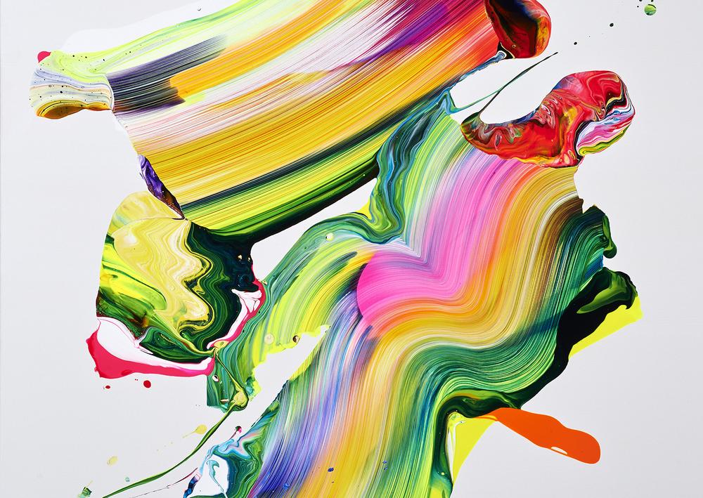 Yago Hortal. Målning till Absoluts bildbank.