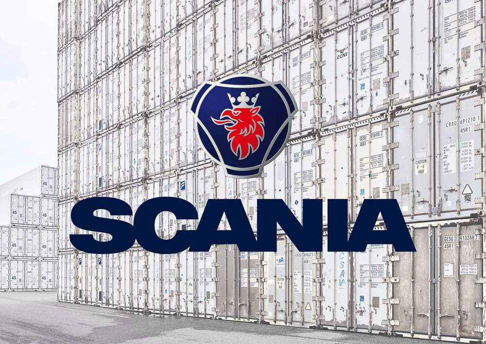 New identity for Scania. Read more  here .