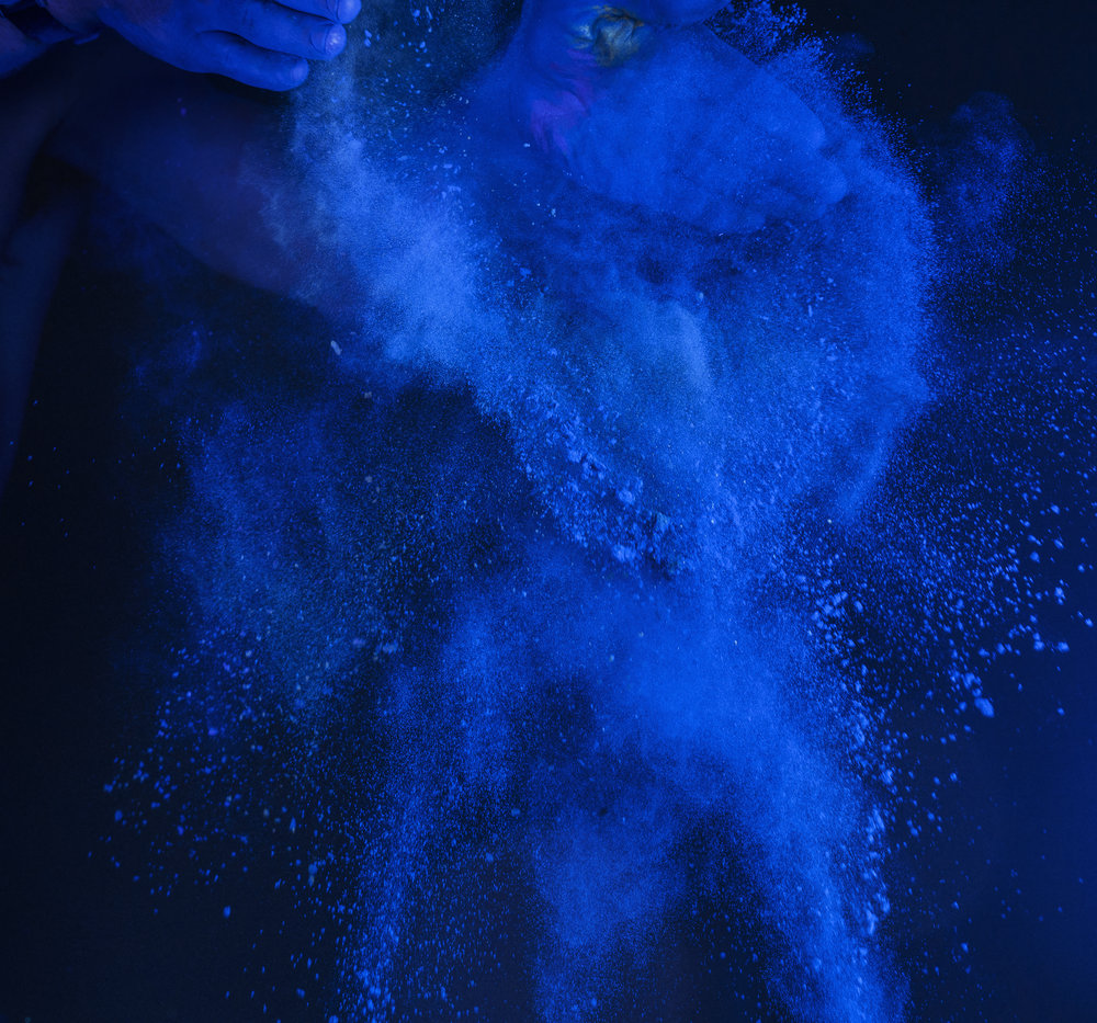 Absolut Master Brand Identity Image. Blue Pigment by Fabian Öhrn.