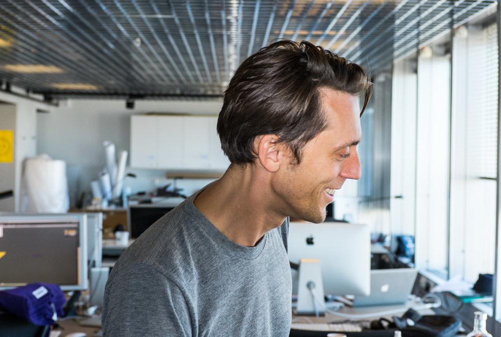 Björn, Design Director.