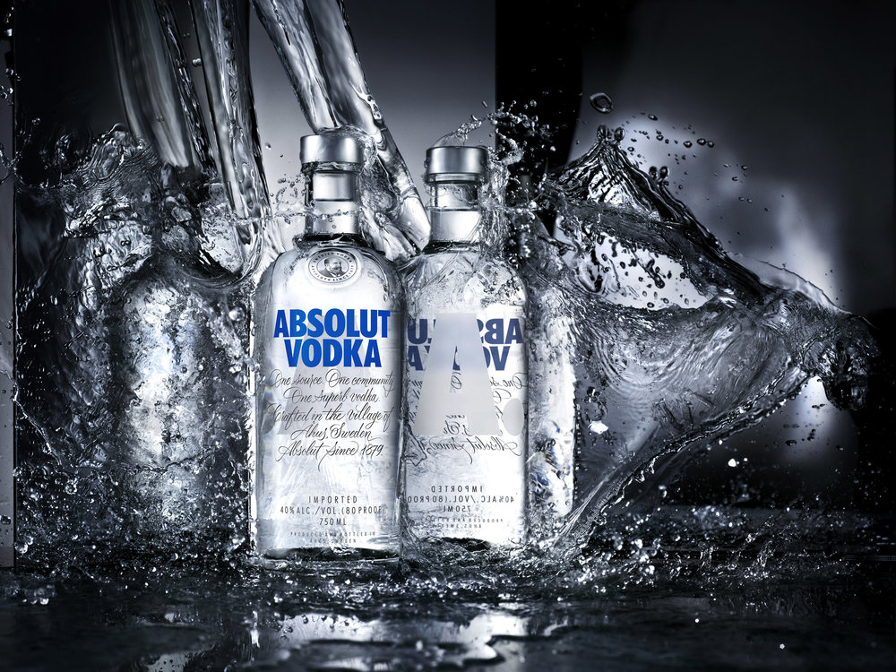 Absolut Vodka, re-designing an icon.