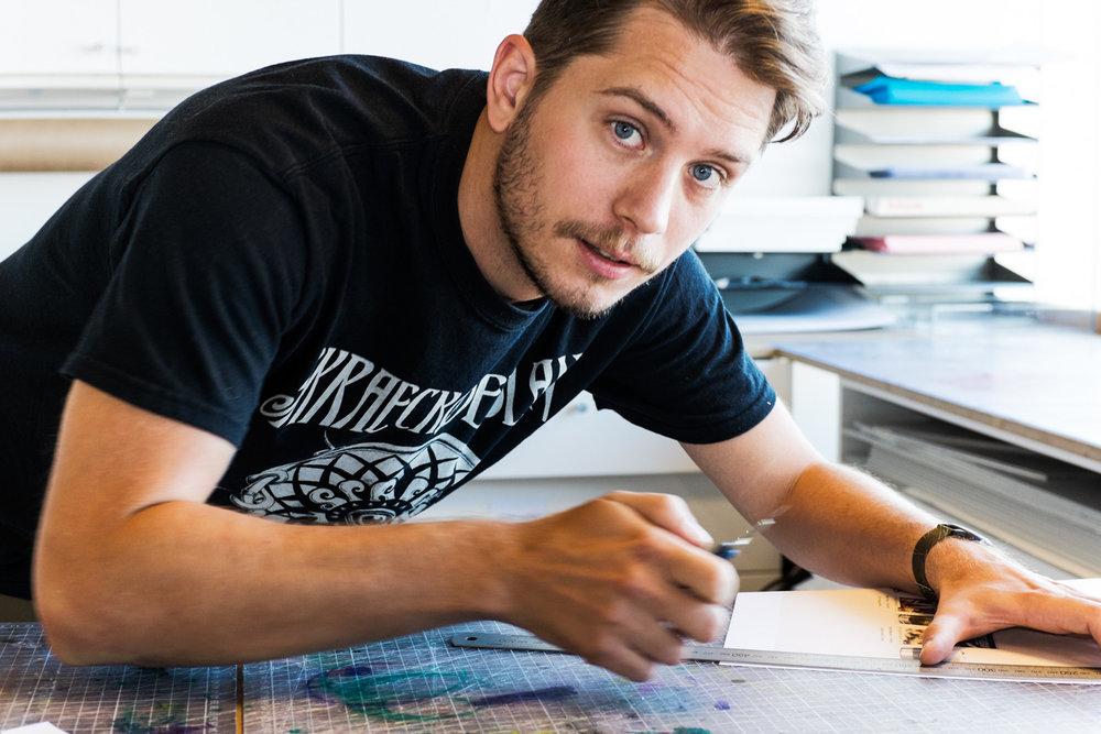 Björn, Designer.