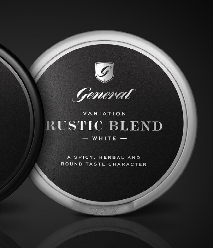 Rustic Blend, a studio favorite.