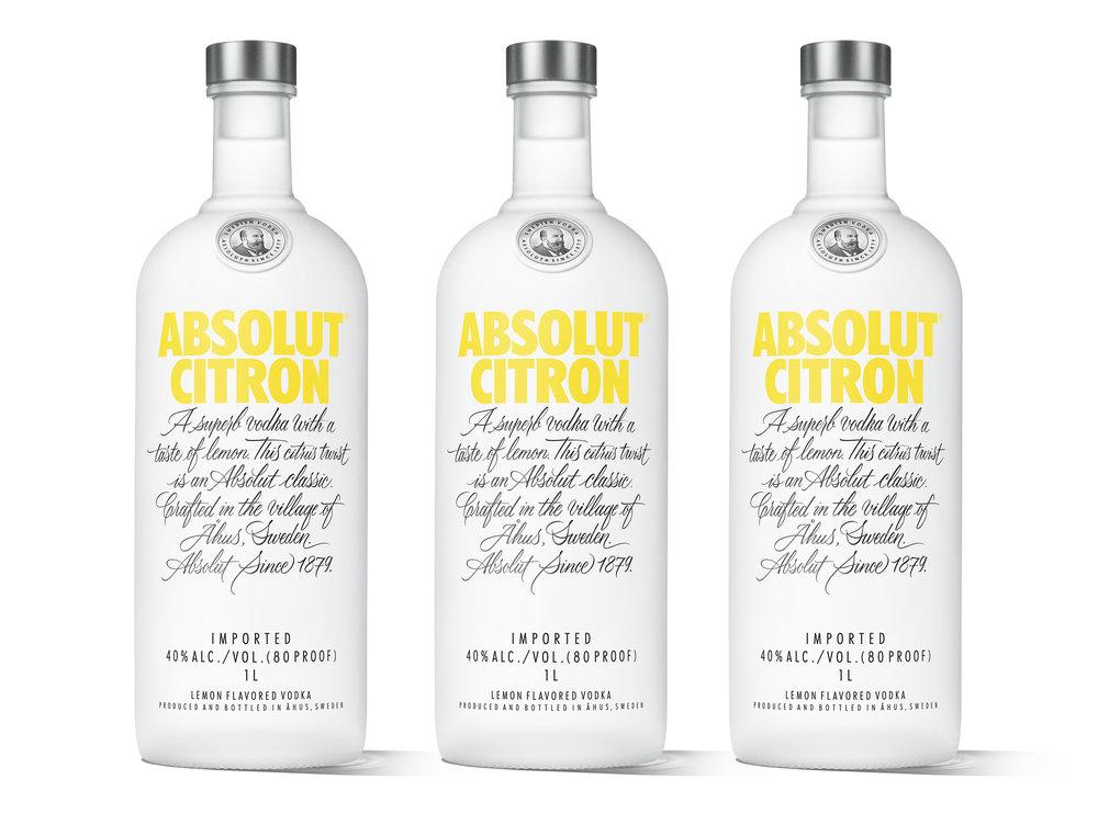 Cosmo time! Absolut Citron och Mandrin re-design av BU.