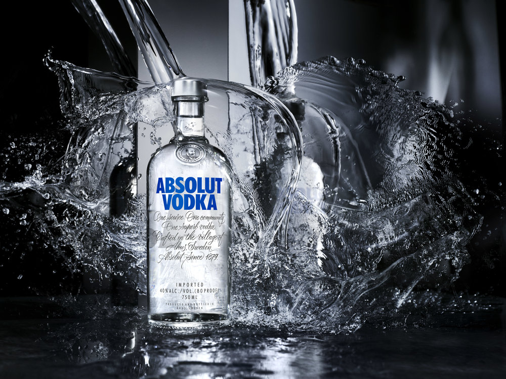 The new Absolut original bottle is finally out.