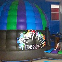 Disco dome at Bentley My Place