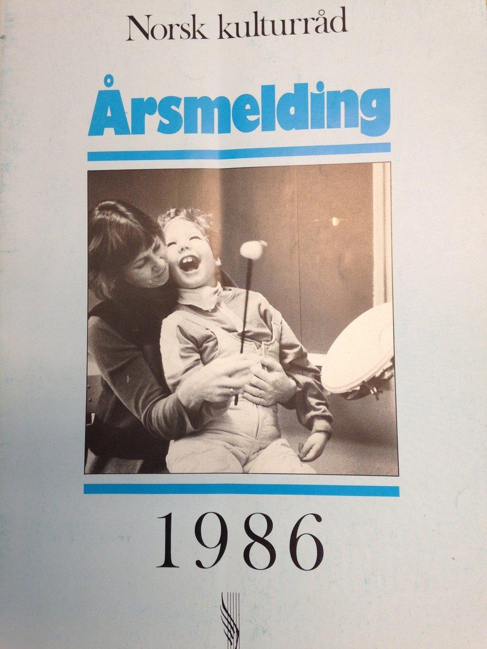 Norsk kulturråd var midt på 1980-talet med på synleggjere musikkterapiens rolle i arbeidet med eit meir inkluderande samfunn som tar alle menneske sin rett til kultur- og samfunnsdeltaking på alvor.