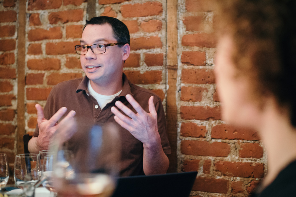 David's passion for wine is infectious. What's more, is his passion for sharing his love of wine. Sharing the experience of wine with others is his calling in life, and it's a beautiful thing to witness. David blogs about wine and our monthly wine tastings here:  www.davidjohnhansen.com .