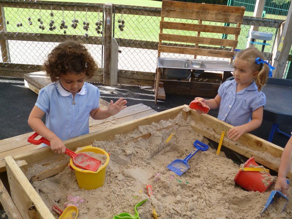 In the Sandpit.