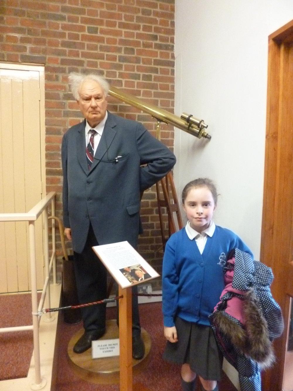 Meeting Sir Patrick Moore