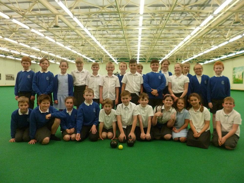 At Horsham Indoor Bowls Centre