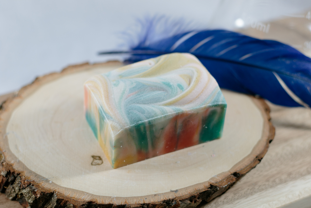 Unicorn Blood - Spearmint scented soap. - just like the Atmosphere soap, but a little bigger and smoother.