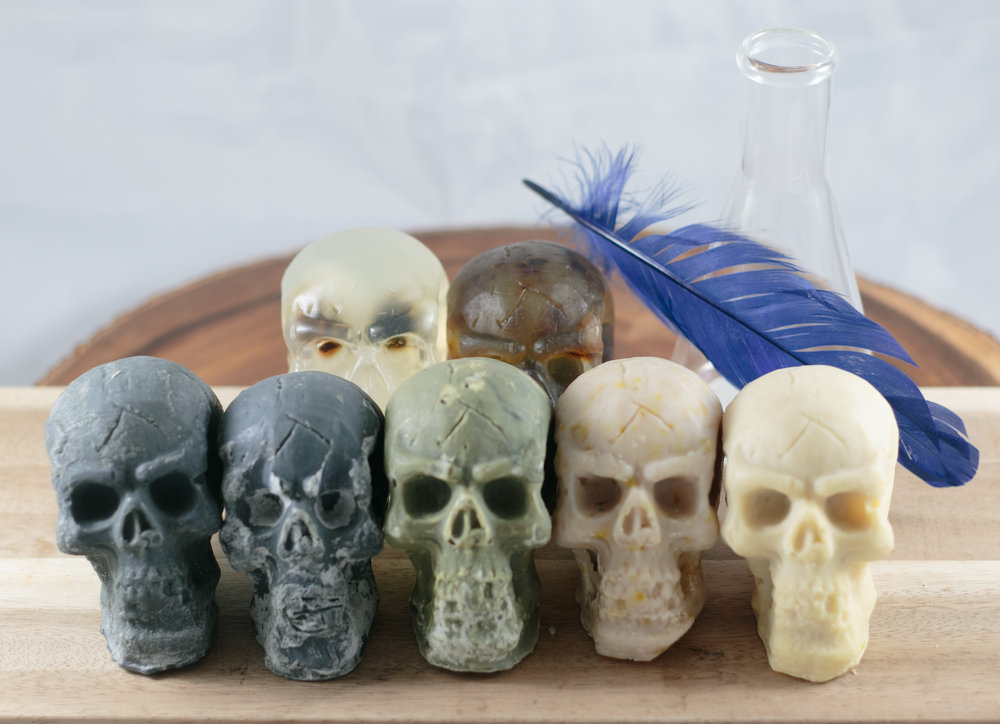 Limited Skull Soaps!
