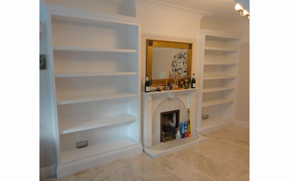 Alcove Bookcases