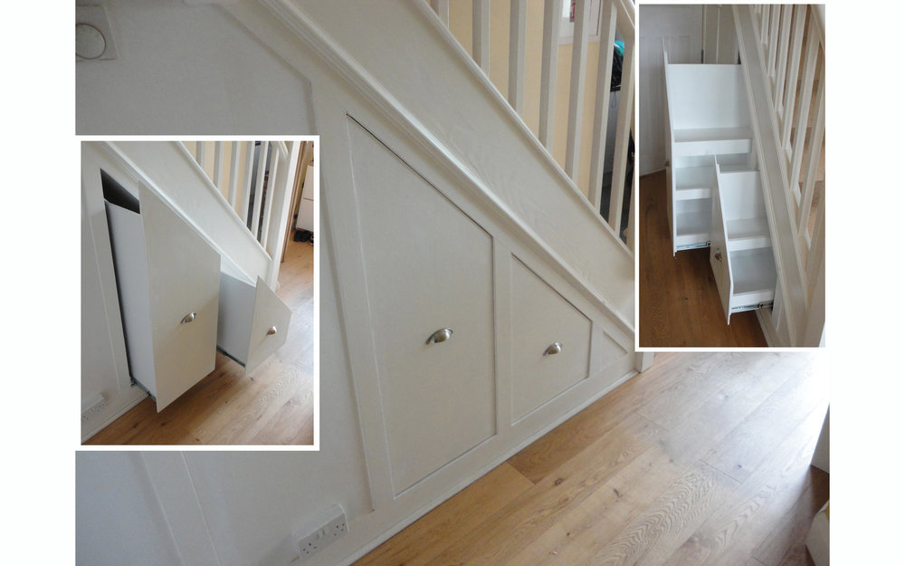 Under-stair Pull-out Storage