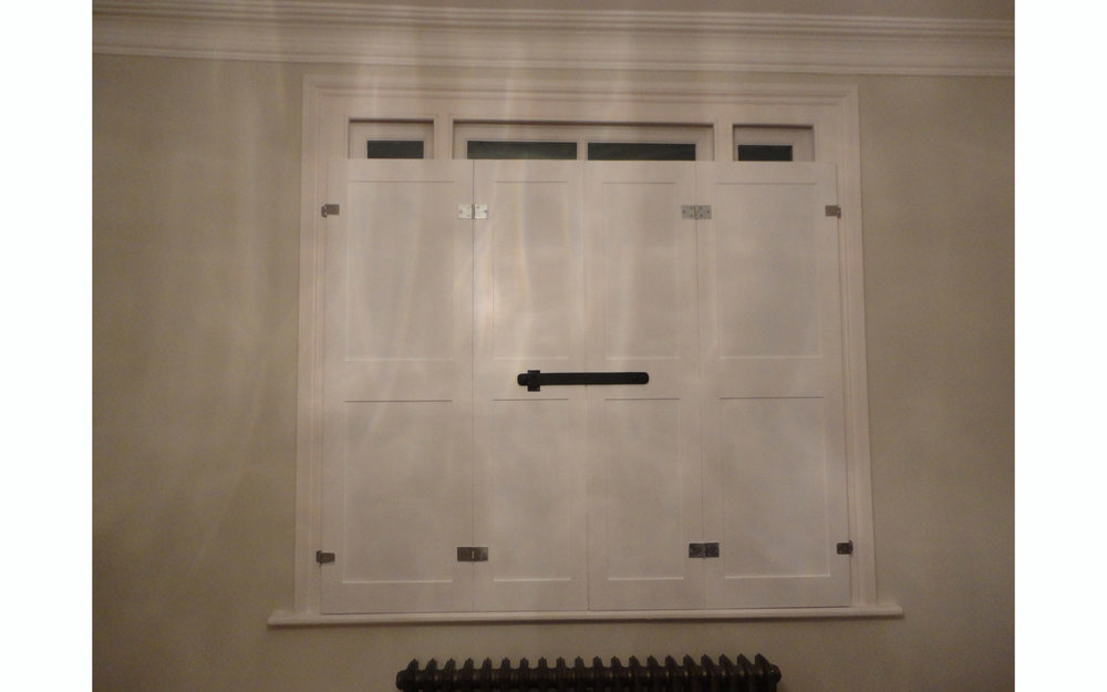 Georgian Window Shutters
