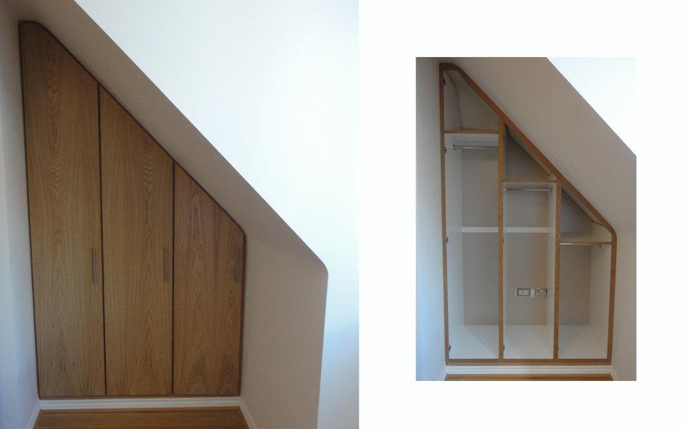 Oak Loft Wardrobe