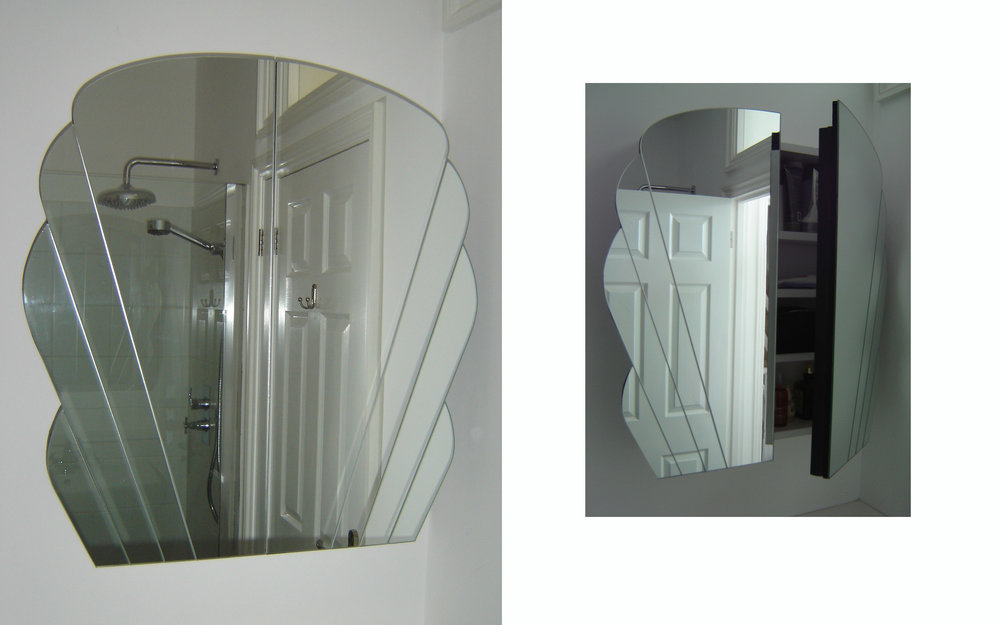Art Deco Bathroom Cabinet