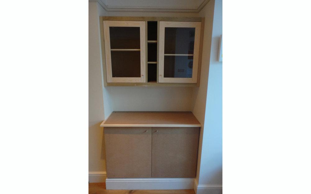 Glazed Alcove Display Unit
