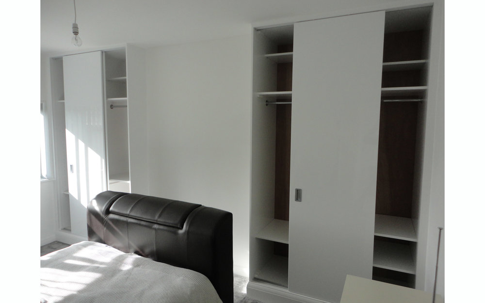 Sliding-Door Twin Wardrobes