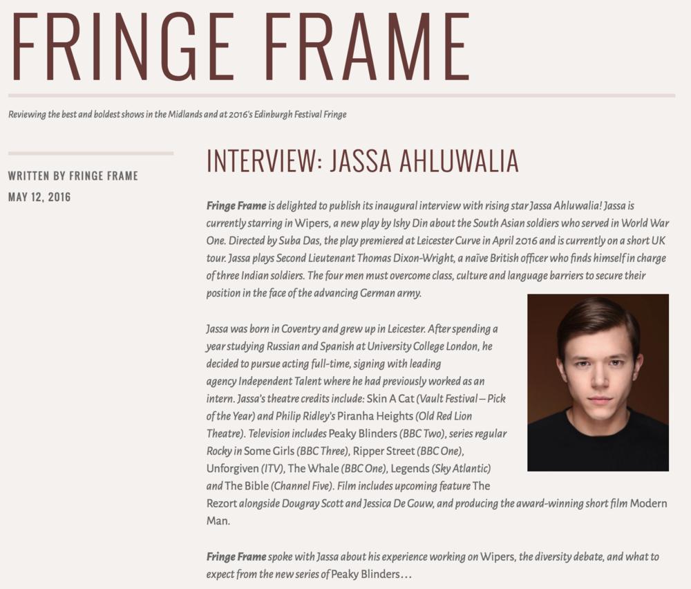 Fringe Frame