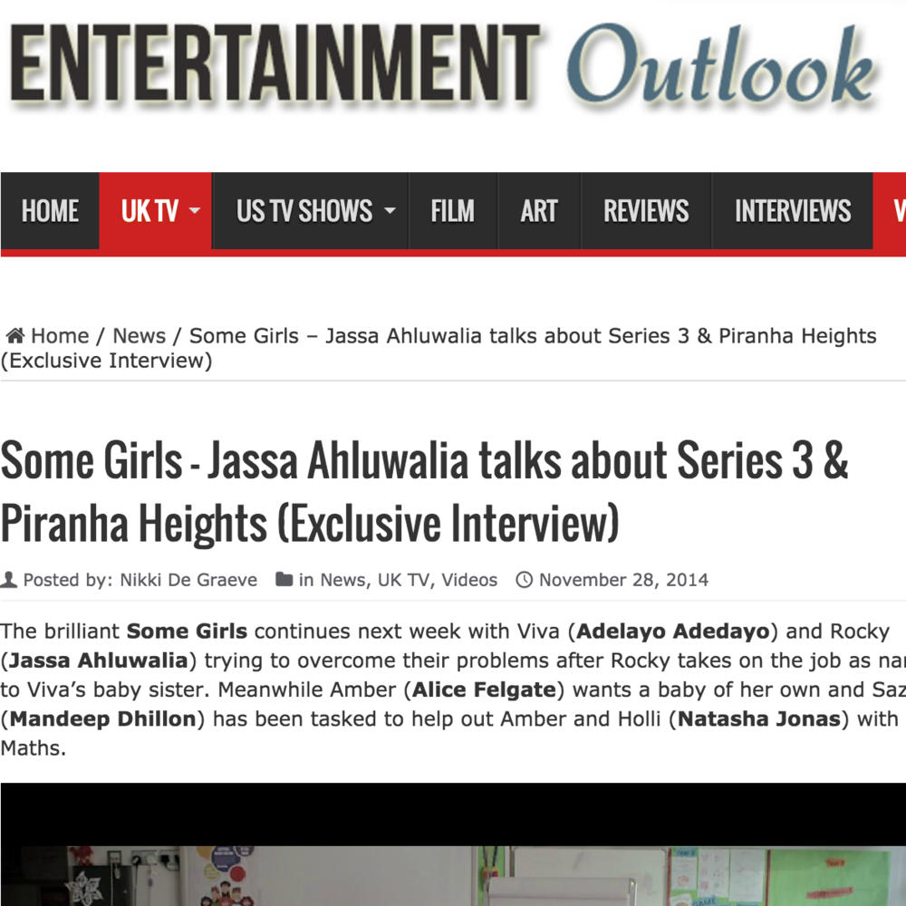 Entertainment Outlook: Some Girls & Piranha Heights