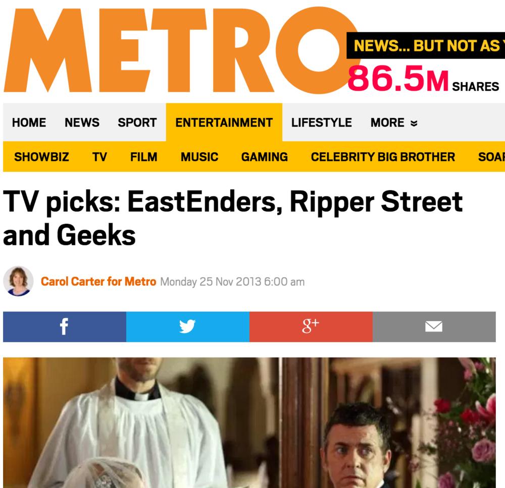 METRO: Ripper Street