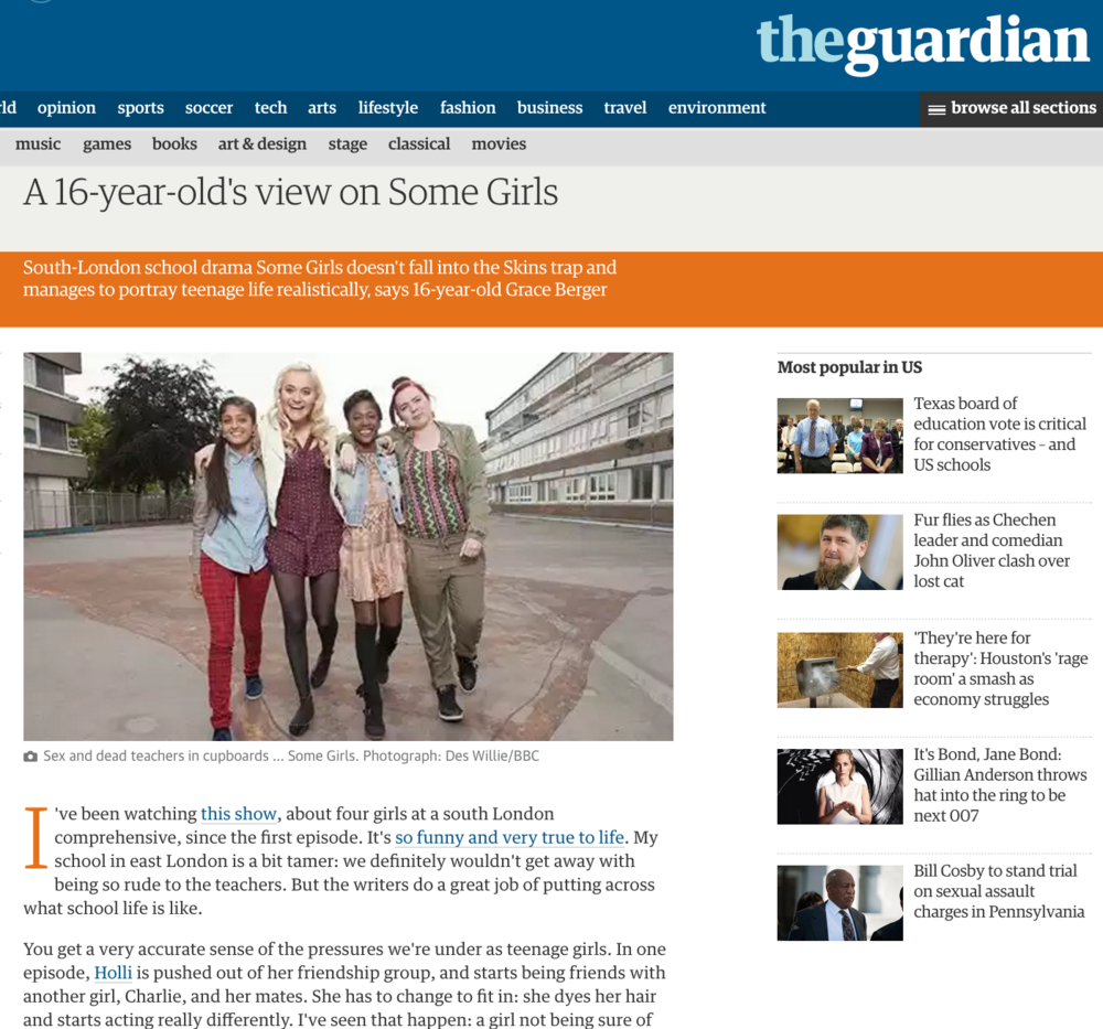 THE GUARDIAN: Some Girls