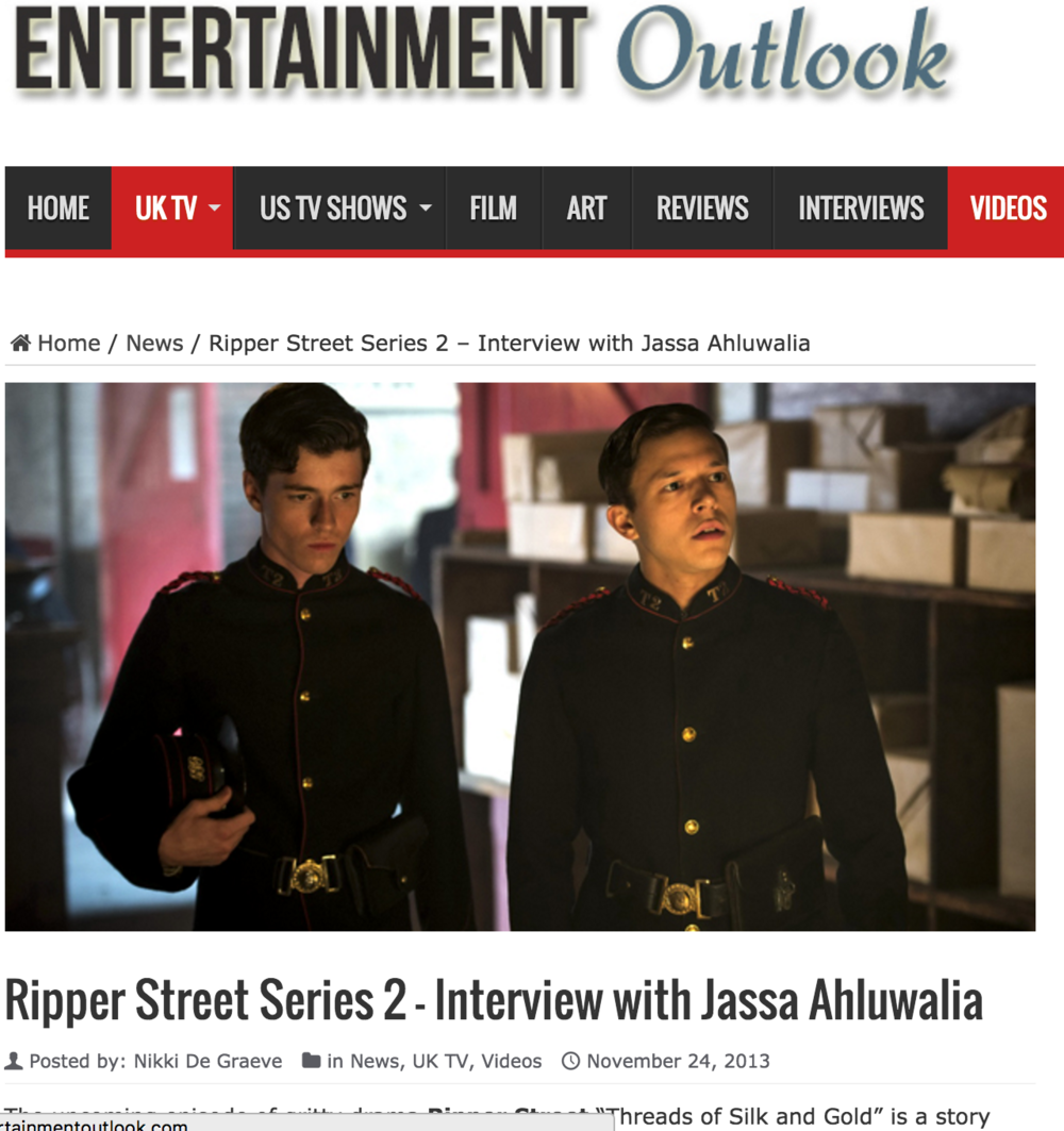 Entertainment Outlook: Ripper Street