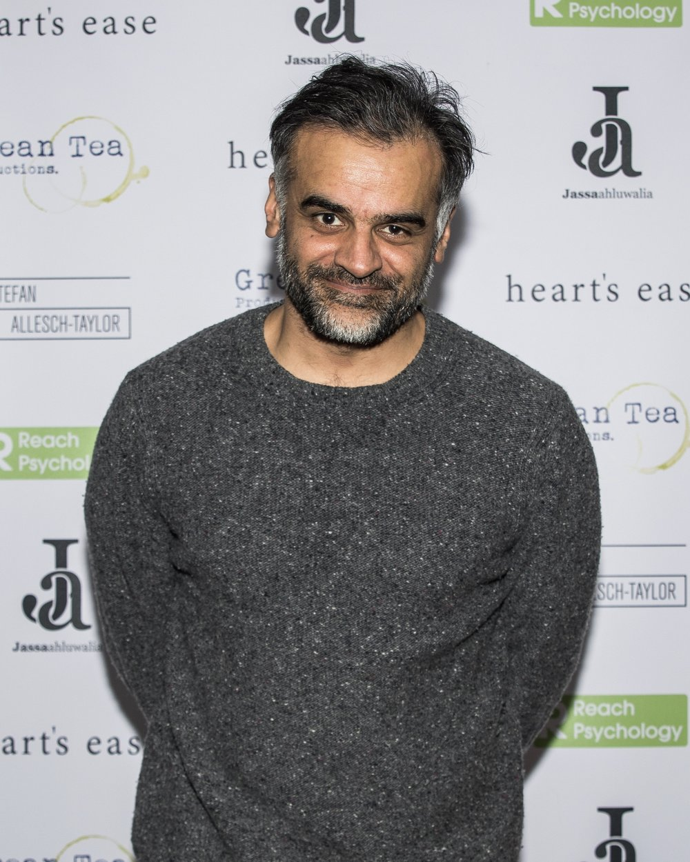 Sartaj Garewal attends the cast and crew screening of Heart's Ease.