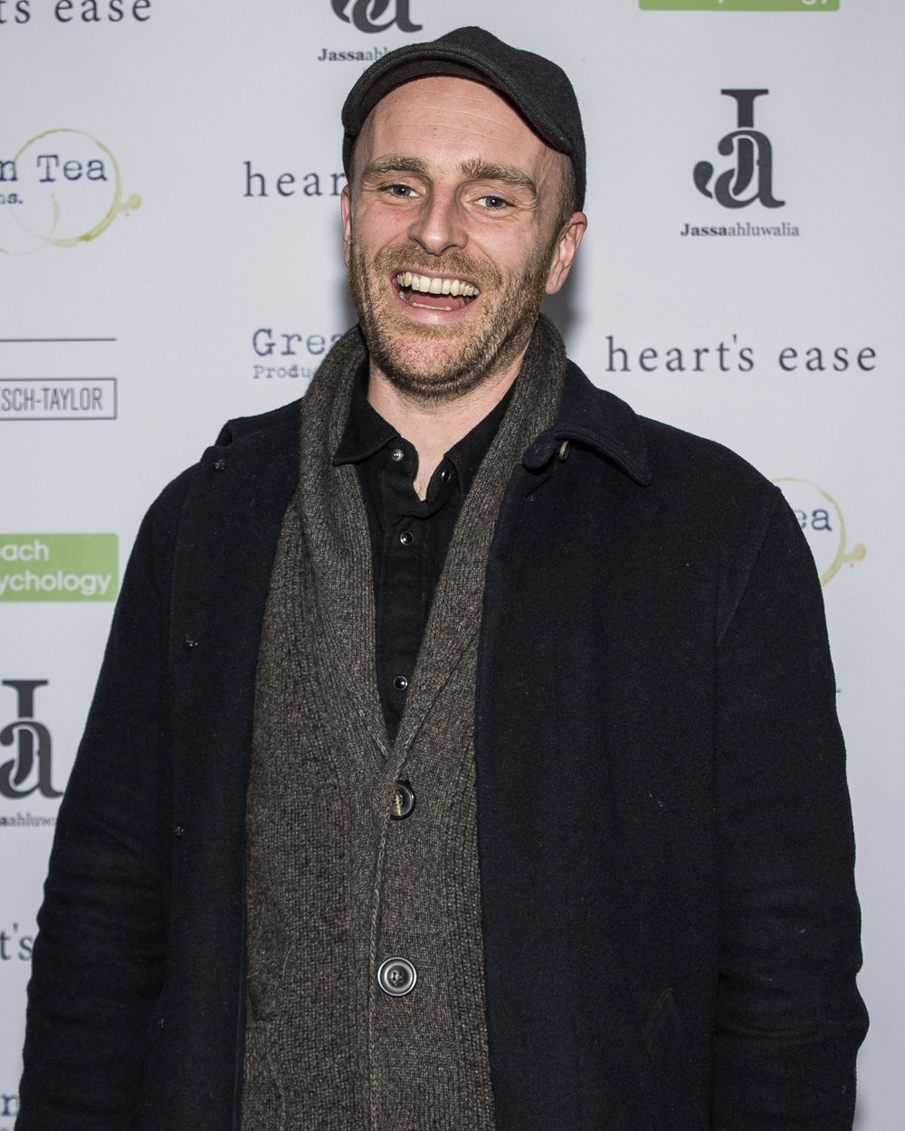 Matthew J Smith attends the cast and crew screening of Heart's Ease.