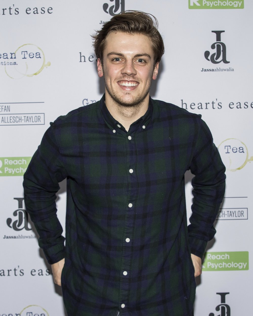 Matthew Marrs attends the cast and crew screening of Heart's Ease.