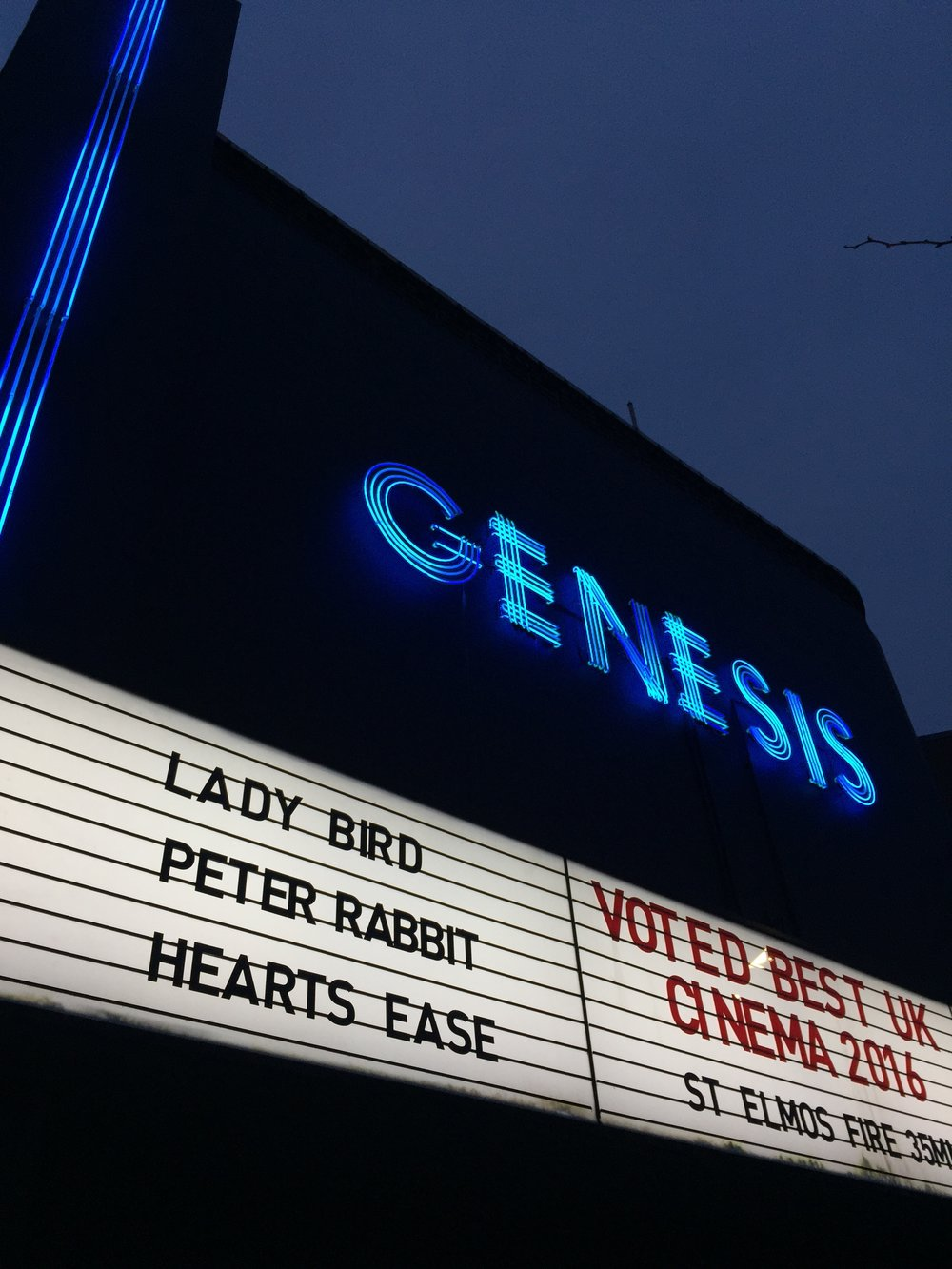 The cast and crew screening of Heart's Ease at Genesis Cinema on Thursday 22nd March 2018.