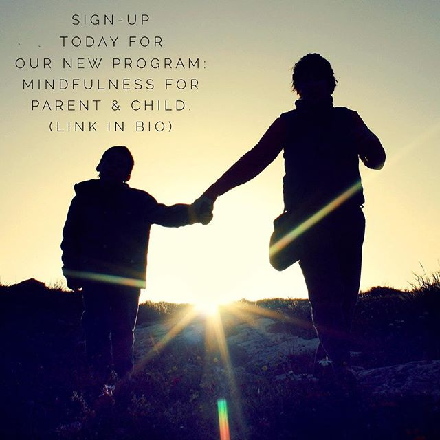 "Join us for our newest 8-week program ""Mindfulness for Parent & Child."" We are excited to share meditation instruction, current child development research, inspiration, and community dialogue. . . Program runs April 2nd - May 14th, 2017. Limited space available and no previous experience required. . . #mindfulness #mapmindfulness #mindfulnessforkids #mindfulnessforparents #mindfulfamily #mentalhealth #healthychildren #healthychildhood #unplugged #unpluggedchildhood #onlinelearning #onlinecoaching"