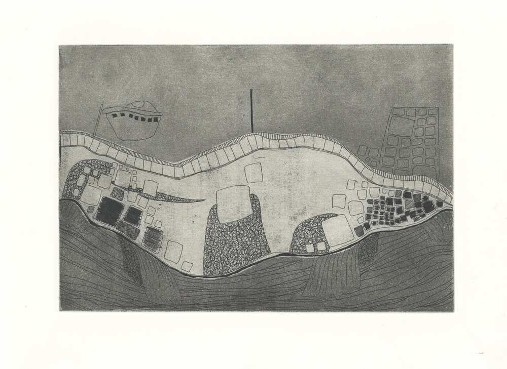 Etching Experiment (Santa Polla Harbour).jpg