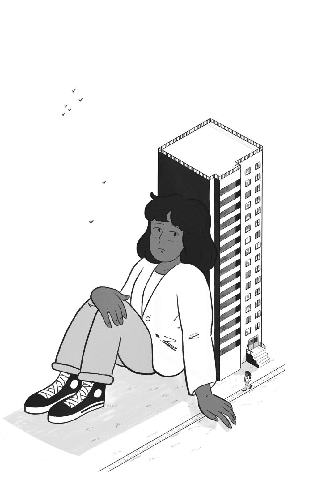 'Parc-Ex' (a short story by M Malik), 2018.