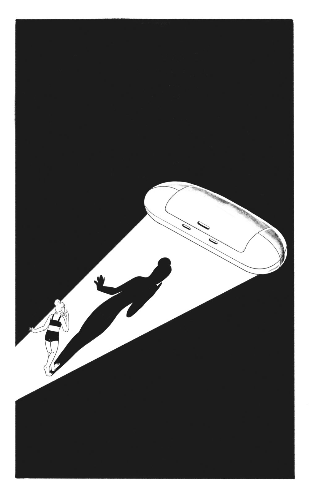 'Float Land' (a short story by Nicole Boyce), 2018.